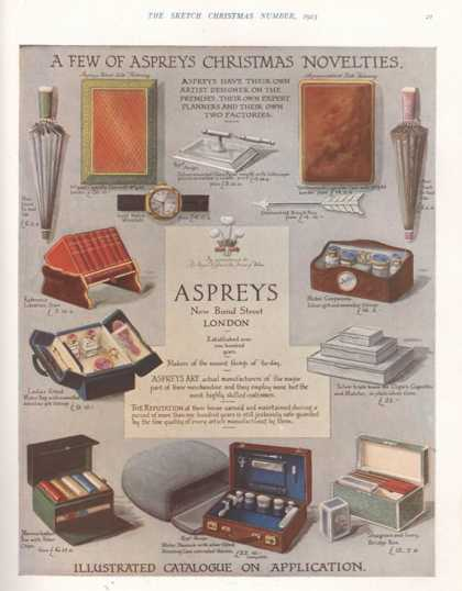 Asprey, Gifts, UK (1923)