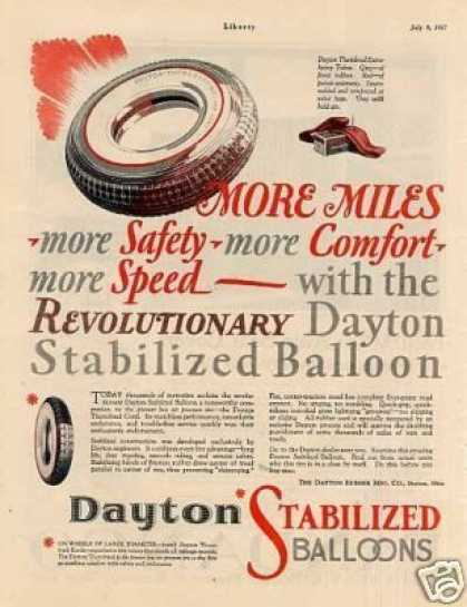 Dayton Tires Color (1927)