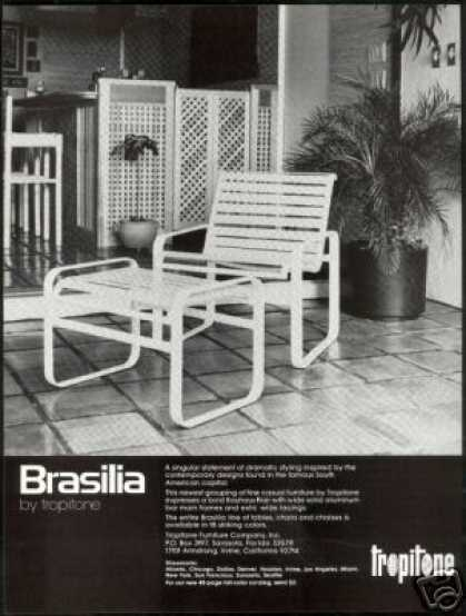 Tropitone Brasilia Chair Furniture Photo (1978)