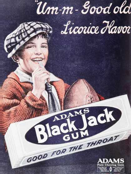 Adams Black Jack Gum