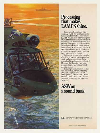 US Navy LAMPS MK 1 Computing Devices Sonobuoy (1989)
