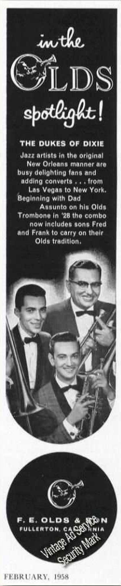 Dukes of Dixie Photo Olds (1958)