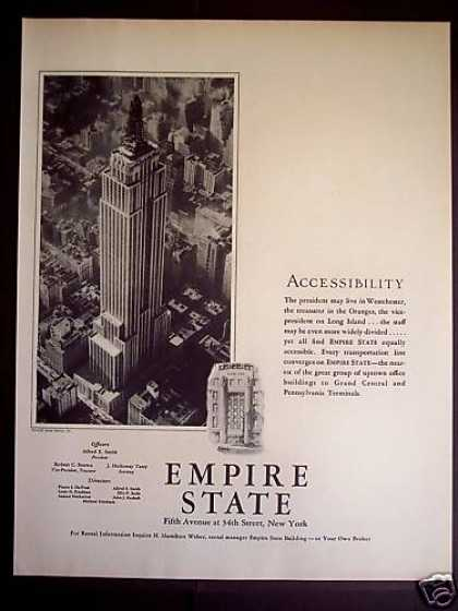 Empire State Building New York (1931)