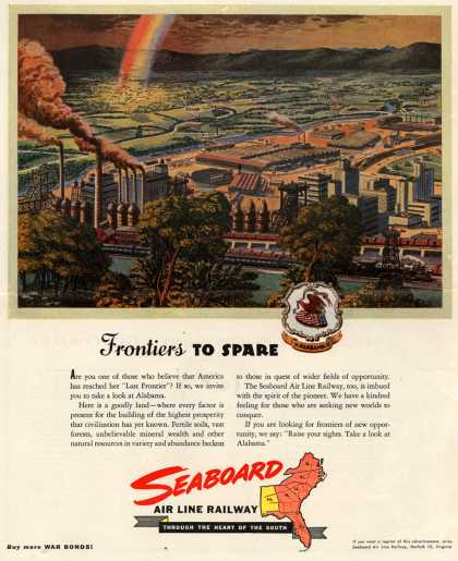 Seaboard Air Line Railway – Frontiers to Spare (1946)