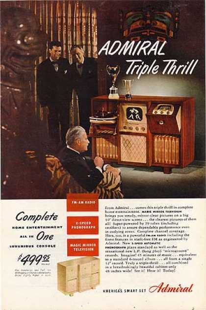 Admiral's Home Entertainment System (1948)