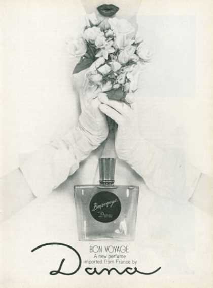 Dana Bon Voyage Fragrance French Perfume (1961)