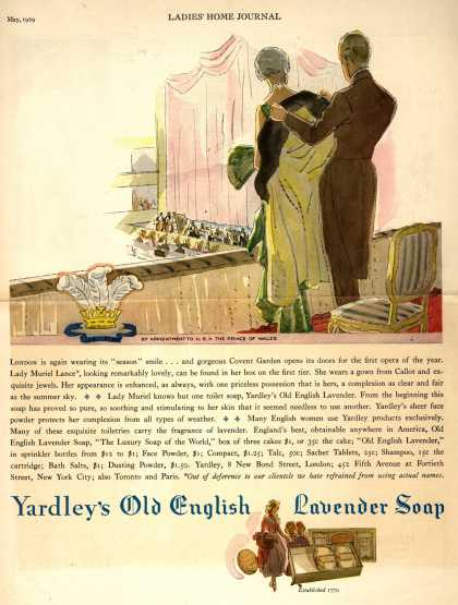 Yardley &amp; Co., Ltd.&#8217;s Old English Lavender Soap &#8211; Yardley&#8217;s Old English Lavender Soap (1929)