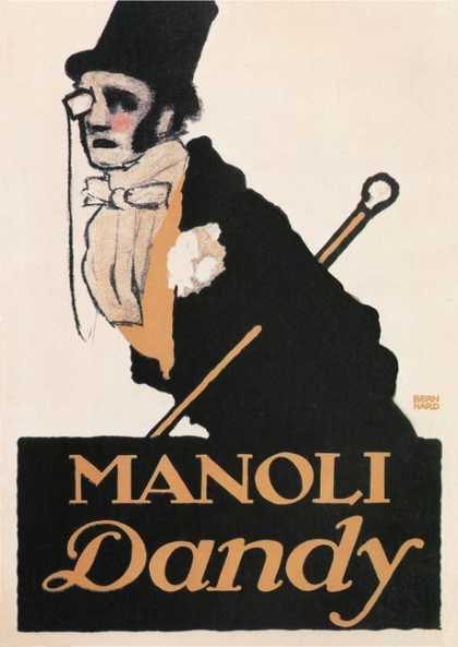 Manoli Dandy &#8211; Lucian Bernhard &#8211; Alemania (1913)