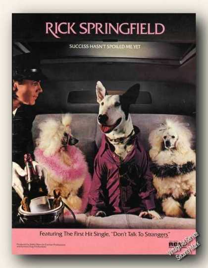 Rick Springfield Success Hasn't Spoiled Me Yet (1982)