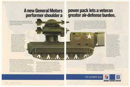 US Army General Motors M730 Missile Carrier 3-P (1986)