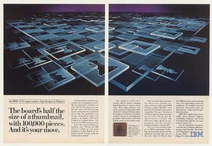 IBM 4341 Super-Mini Hughes Chip Design Chess 2P (1983)