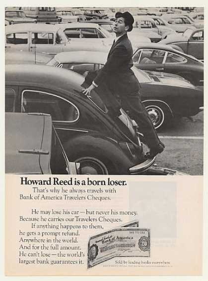 Howard Reed Born Loser VW Bug Bank of America (1968)