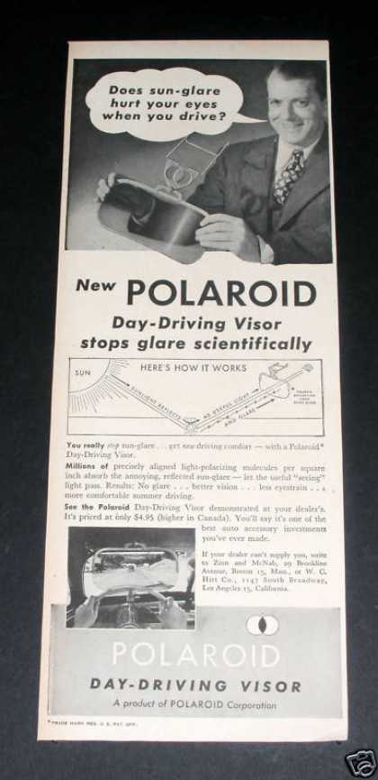 Polaroid Driving Visor (1946)