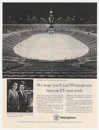 Los Angeles Sports Arena Westinghouse CBS-TV (1960)