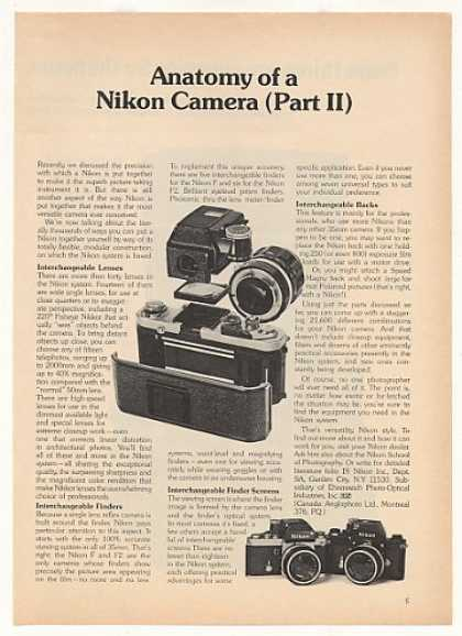 Anatomy of a Nikon Camera Part II (1973)