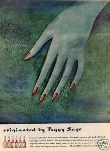 Peggy Sage Nail Polish (1943)
