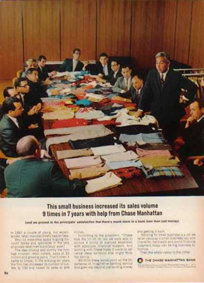 Chase Manhattan Bank – Small Business Banking (1967)
