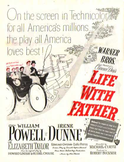 Life With Father Movie (1949)