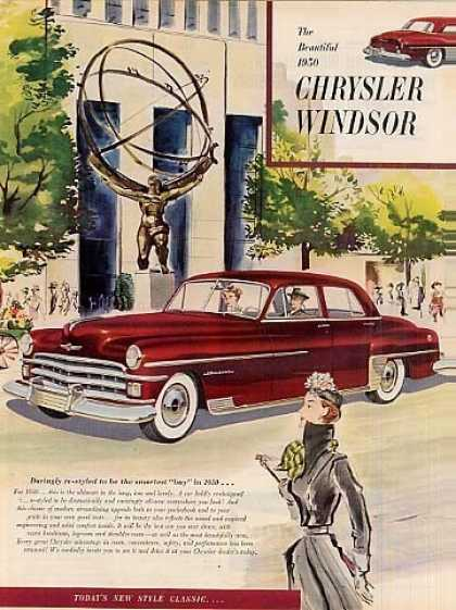 Chrysler Windsor Car (1950)
