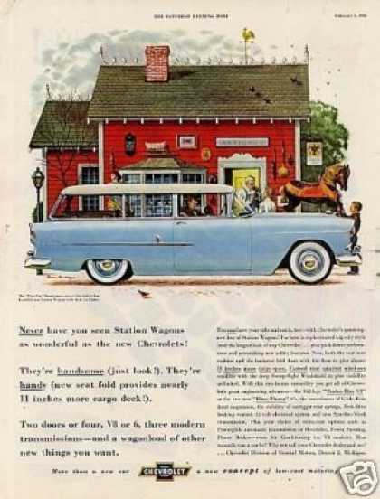 "Chevrolet ""Two-ten"" Handyman Wagon (1955)"