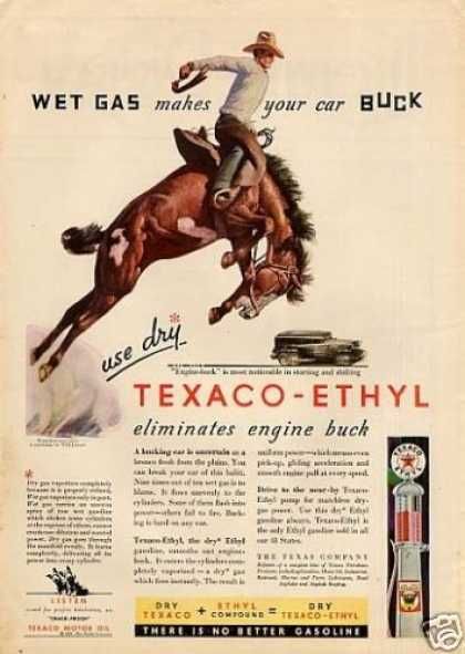 Texaco-ethyl Gasoline (1931)