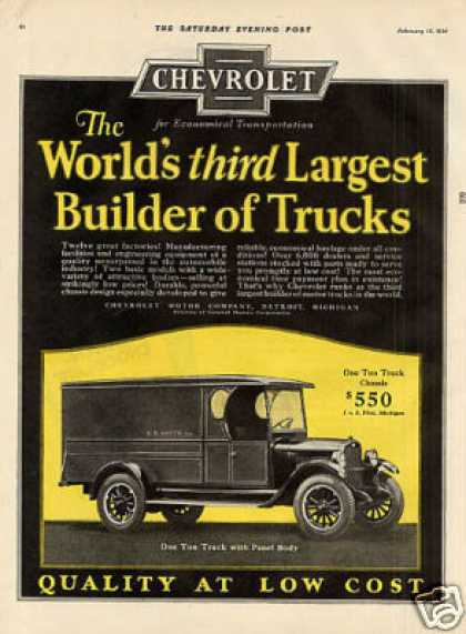 Chevrolet Truck Color (1926)