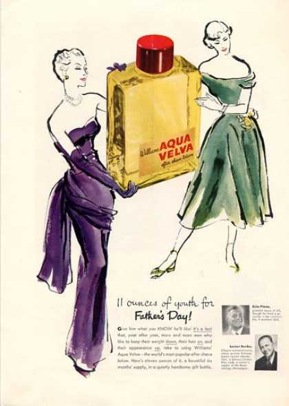 Aqua Velva Bottle After Shave (1950)