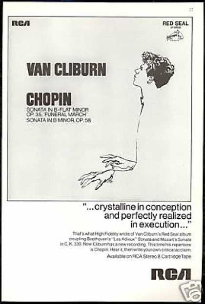 Van Cliburn Plays Chopin RCA Record Promo (1968)