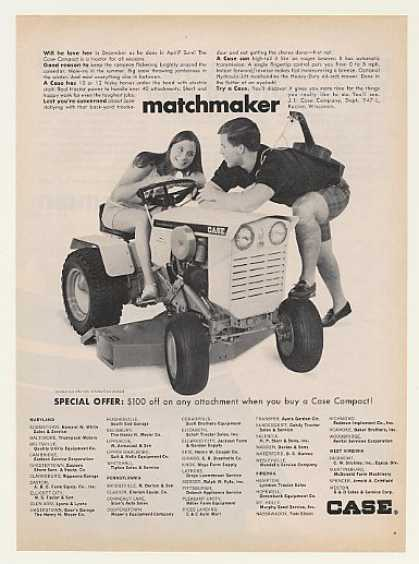 Case Compact Lawn and Garden Tractor (1968)