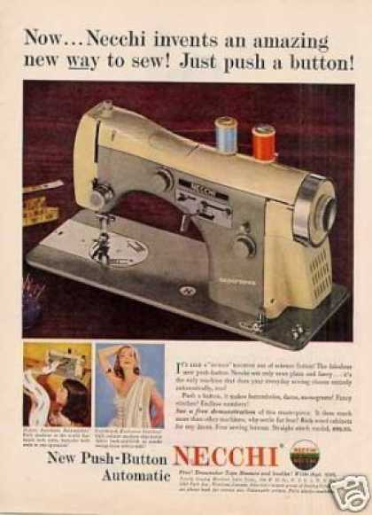 Necchi Sewing Machine (1955)
