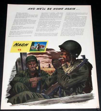 Nash, We'll Be Home Again! Wwii (1944)