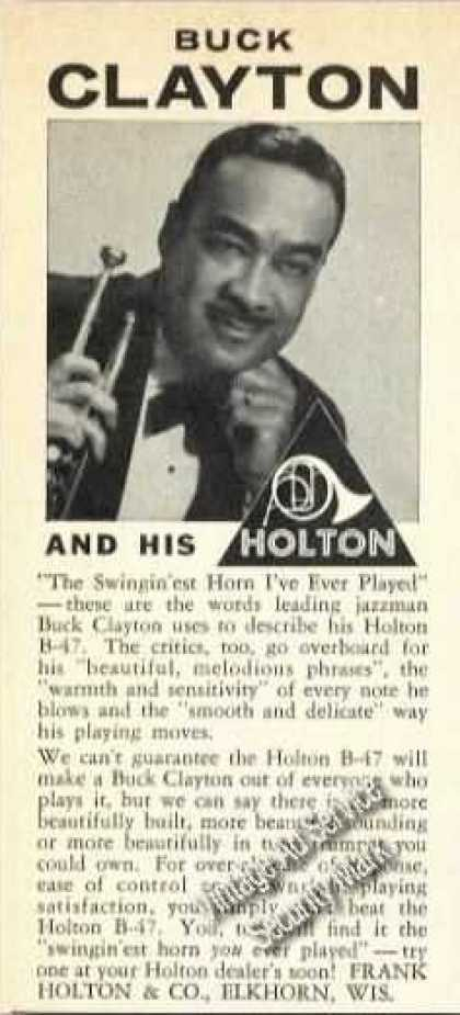 Buck Clayton Photo Holton Trujmpets Promo (1964)