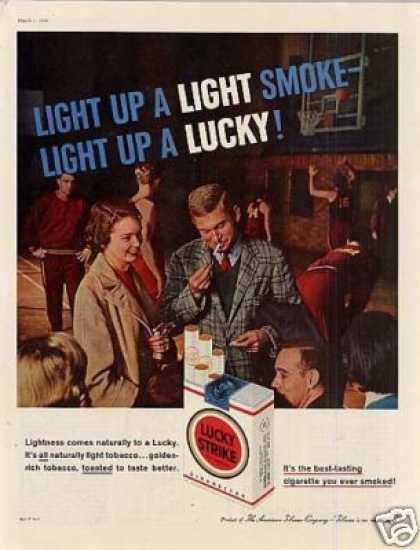 Lucky Strike Cigarettes (1958)