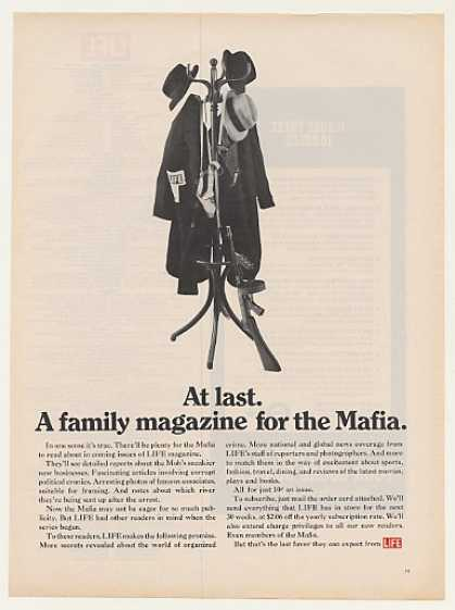 A Family Magazine for the Mafia Life Magazine (1969)