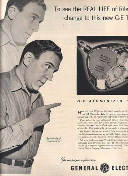 Aluminized Tubes – General Electric (1953)