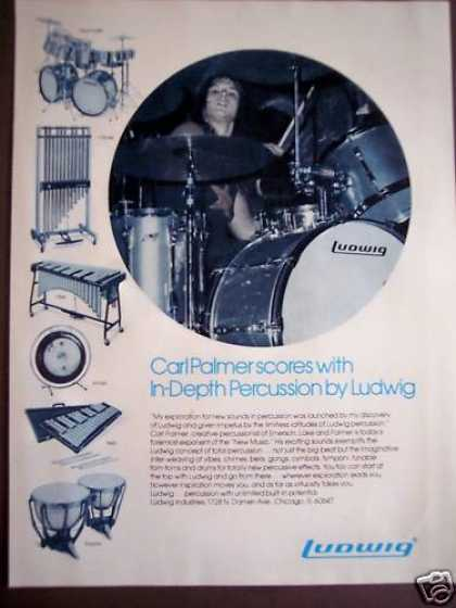 Ludwig Drums Carl Palmer Music (1975)