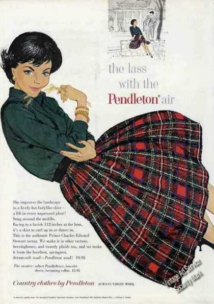 """The Lass With the Pendleton Air"" Fashion (1960)"