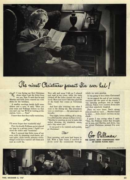 Pullman Company – The nicest Christmas present I've ever had (1947)