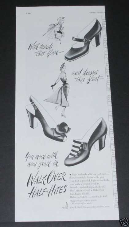 "Vitality Shoes, ""Walk-over (1949)"