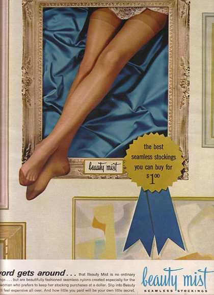 Beauty Mist's Seamless Stockings (1964)