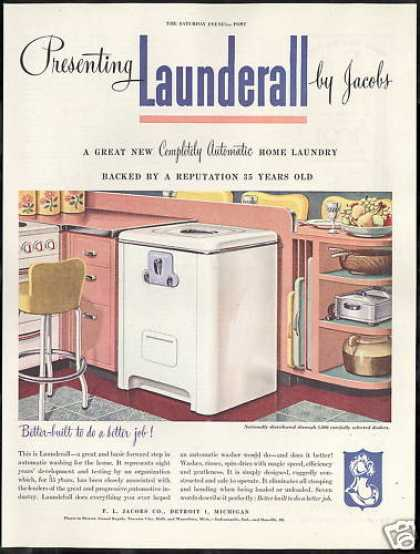 Jacob Launderall Automatic Washing Machine (1946)