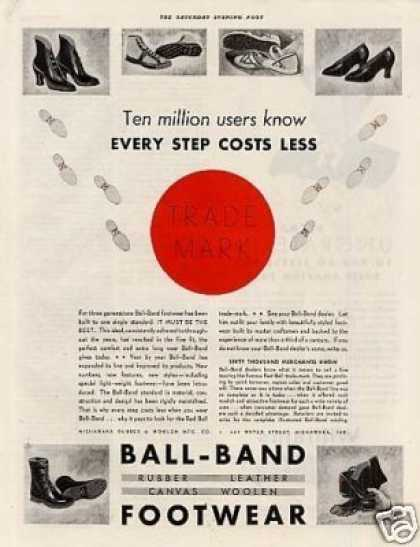 Ball Band Footwear (1934)