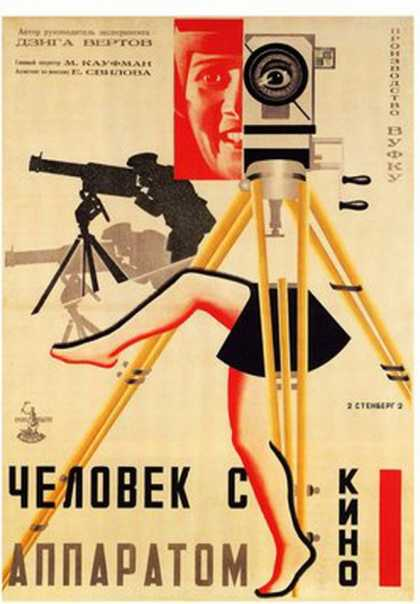 Man With The Movie Camera (1929)