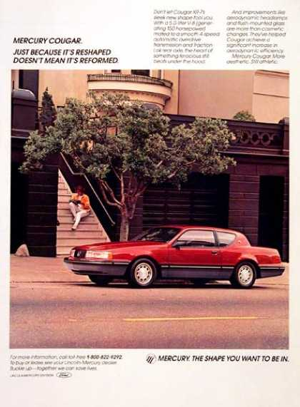 Mercury Cougar XR-7 (1987)