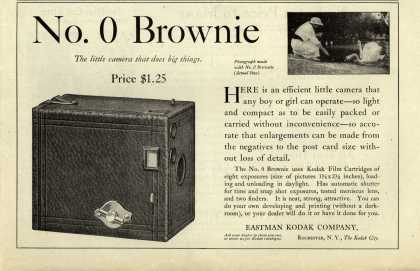 Kodak's Brownie camera, No. 0 – No. 0 Brownie (1914)