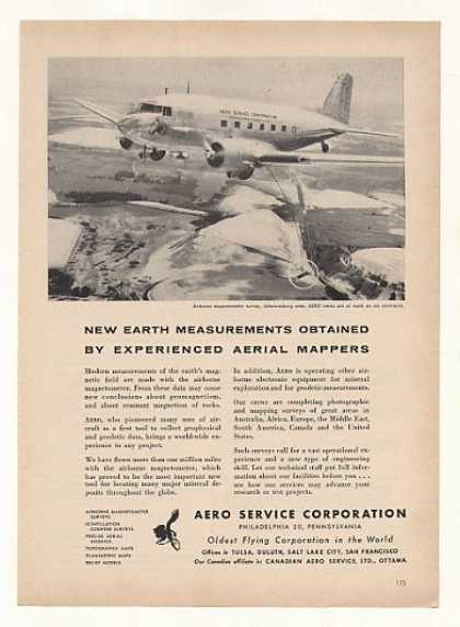 Aero Service Corp Magnetometer Survey Airplane (1955)