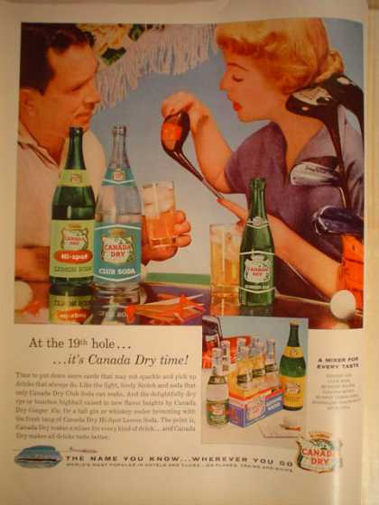 Canada Dry 19th Hole Golf Theme (1956)