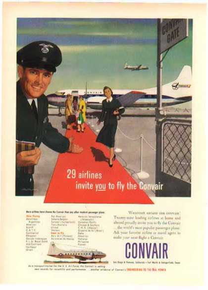 Convair – Engineering To the Nth Power – Sold (1949)