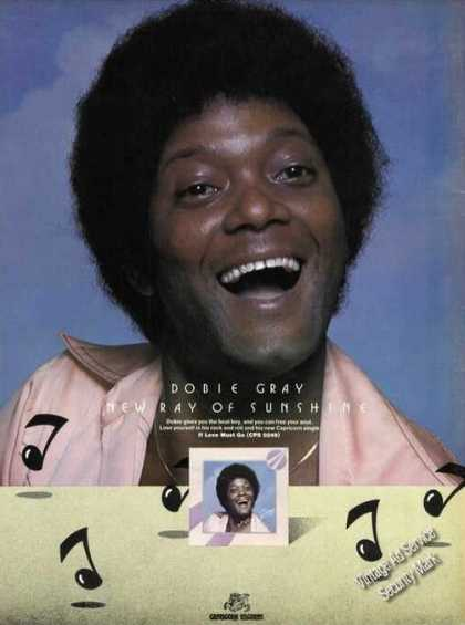 Dobie Gray Photo Ad Album Promo (1976)