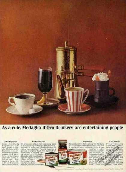 Medaglia D'oro Drinkers Entertaining People (1963)